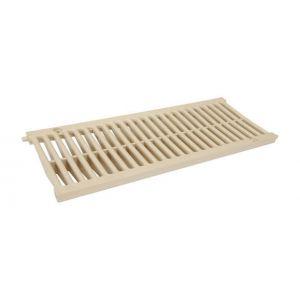 Nicoll Grille caniveau PVC 0,5m A15 largeur 200 sable