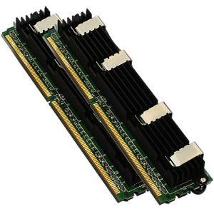 NUIMPACT NUA-MPFBD/4GKT - Barrettes mémoire 2 x 2 Go DDR2 667 FB-DIMM ECC