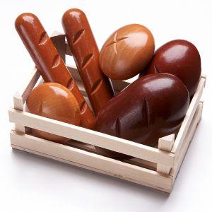 Haba 300564 - Set de petits pains pour épicerie