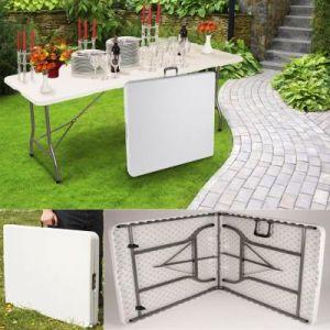 ProBache Table pliante d'appoint portable pour camping ou réception 180 cm