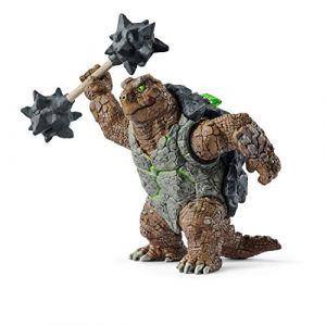 Schleich Eldrador Creatures 42496 - Figurine Tortue blindée avec arme