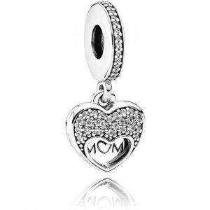 Pandora Charm Moment 792071CZ Charm Sentiments Amoureux