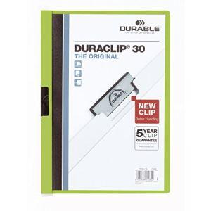 Durable Chemise à clip Duraclip Original format A4 (30 feuilles)