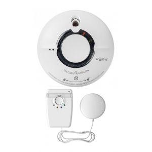 FireAngel Pack 1 Détecteur de fumée WST-AE630 + 1 Dispositif d'alerte combiné lumière stroboscopique et coussin vibreur