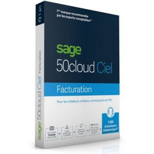 50c Ciel Facturation 1 an PC [Windows]