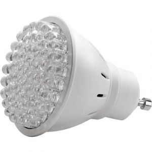 Lumihome LAMPE GU10 BLANC CHAUD 60 LED Ampoule 60 super LED blanc chaud GU10