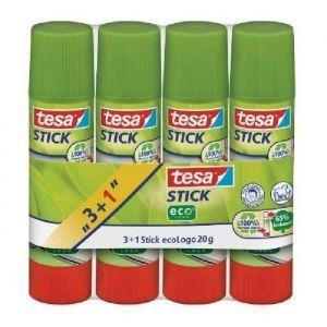 Tesa Stick Ecologo 20gr x4