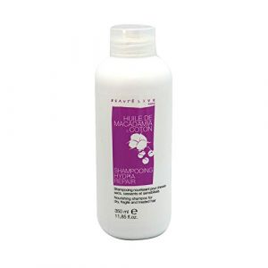 Beautélive Shampooing hydra repair à l'huile de macadamia et coton