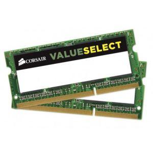 Corsair CMSO8GX3M2C1600C11 - Barrette mémoire Value Select 8 Go (2 x 4 Go) DDR3L 1600 MHz CL11