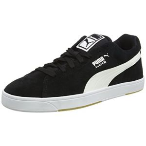 Puma Suede S, Baskets Basses Homme, Noir (Black/White), 42 EU