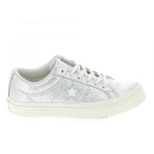 Converse Basket mode sneakerbasket mode sneakers one star argent brillant 36