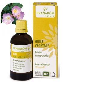 Pranarôm Huile Bio Rose musquée du Chili - 1000 ml