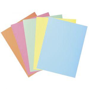 Exacompta 332006E - Paquet de 50 chemises SUPER 250 2 rabats, coloris bleu clair