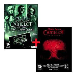 Carte prépayée 60 jours Dark Age of Camelot + extension Catacombs [PC]