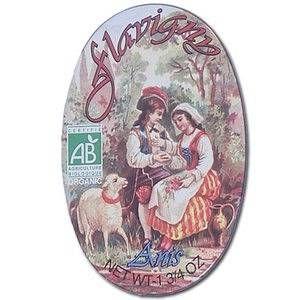 Les anis de flavigny Bonbons à l'anis Bio - boîte ovale 50 g