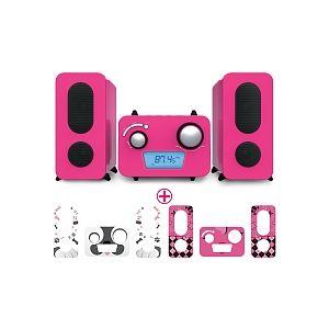 Bigben Interactive Micro chaîne radio/CD/MP3 Chien & Emoji
