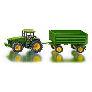 Siku 1953 - Tracteur John Deere avec remorque - Echelle 1:50
