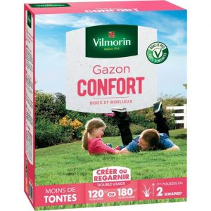 Vilmorin Semences de gazon Confort - 3 kg