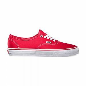 Vans U Authentic - Baskets Mode Mixte Adulte - Rouge (Red) - 42 EU