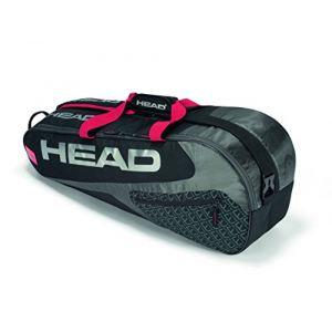Head Elite 6R Combi Raquette de tennis Sac N/A noir/rouge