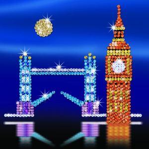 KSG Sequin art Style :  London