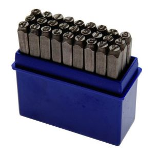 BGS LETTRES A FRAPPER JEU DE 27 LETTRES - choisissezici : 06 mm TECHNIC