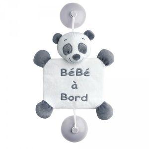 Nattou Signalétique bébé à bord Panda Loulou