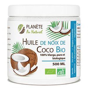 Planète Au Naturel Huile de coco Bio 500 ml