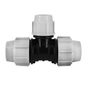 Plasson Té 90° PE compression Ø40 de - Catégorie Raccord PE compression