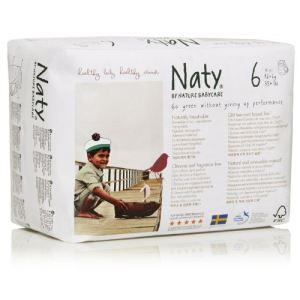 Naty Culotte d'apprentissage taille 6 (+16 kg) - paquet de 18