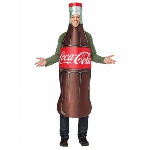 Déguisement bouteille de Coca-Cola adulte