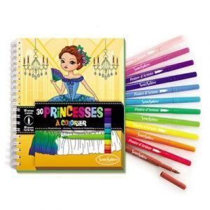 Sentosphère Carnet de coloriage Princesses