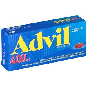Pfizer Advil 400 mg - 14 comprimés