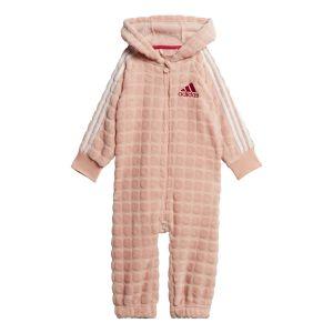 Adidas Survêtements Warm Onesie Infant - Bright Pink / White / Active Pink - Taille 104