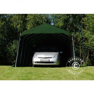 Tente Abri Voiture PRO 3,6x4,8x2,68m, PVC, Vert DANCOVER