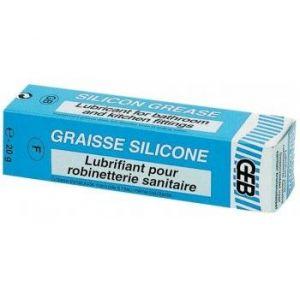 Geb Graisse silicone pour robinetterie sanitaire - Tube de 20g