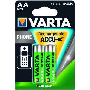 Varta 2 accus AA (R6) NiMH 1,2V 1700 mAh 1.2 V
