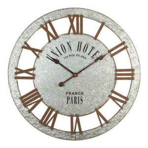 Conforama Horloge argenté 68 cm UNION HOTEL