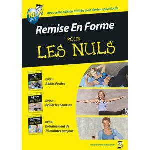 Coffret Remise en forme pour les Nuls - Abdos faciles pour les Nuls + Brûler les graisses pour les Nuls + Entraînement de 15 minutes par jour pour les Nuls
