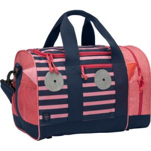 Lässig Sac de sport Little Monsters Mad Mabel corail