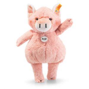 Happy Farm Pigilee Cochon en peluche Rose Peluche, Synthétique