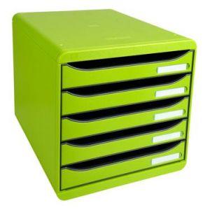 Exacompta 309725D - BIG-BOX PLUS, coloris vert anis