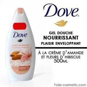 Dove Mon Soin Cocooning - Douche soin nourrissante au lait d'Amande et Hibiscus