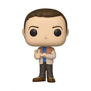 Funko Figurines Pop Vinyl: Television: Big Bang Theory S2: Sheldon Collectible Figure, 38580, Multi