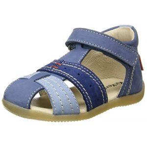 Kickers Sandales et nu-pieds BIGBAZAR-2 bleu pour Enfant garcon taille : 22, 23, 24, 25