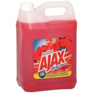 Ajax Détergent multi-usages senteur fleurs rouges - Bidon 5l