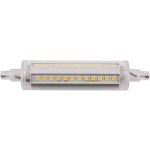 Image de LightMe Ampoule LED R7s LM85119 en forme de tube 8 W blanc chaud (Ø x L) 24 mm x 118 mm EEC: A+ 1 pc(s)