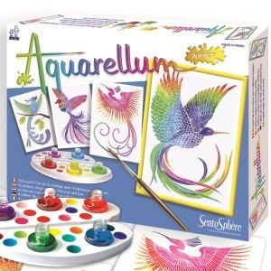 Sentosphère Aquarellum junior : Oiseaux du paradis
