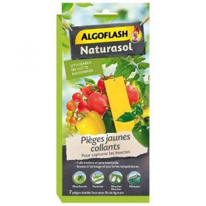 Algoflash Pièges à insectes jaunes collants - 7 stickers