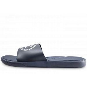 Lacoste L.30 Slide 119 3 CMA Sandales Bout Ouvert Hommes, Bleu